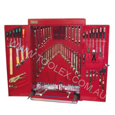 Tool Kit 222Pc Wall Cabinet