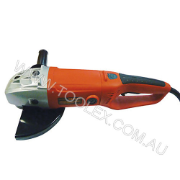 Corded Angle Grinder 230mm 2200W 240V D-Handle Orange Case