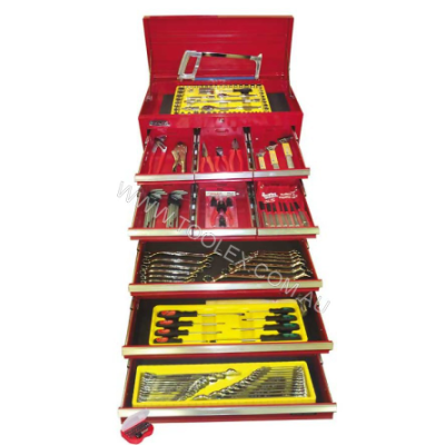 Tool Kit 222Pc  9 Draw Chest