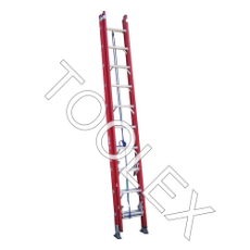 Ladder Extension 5.3m 150 Kg Fibreglass Industrial 10/17 Ft As/Nzs 1892.3:1996 Red Colour