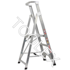 Ladder Platform Ht 0.9m 150kg Aluminium Industrial 1.8m 3ft 6ft As/Nzs1892.1:1996