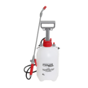 Hand Pressure Sprayer 4LTR Viton Seals Heavy Duty With  Fiberglass Lance 1.3MTR Hose,