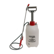 Hand Pressure Sprayer 5LTR Seals Heavy Duty With Fiberglass Lance 1.3MTR Hose,
