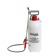Hand Pressure Sprayer 8LTR Viton Seals Heavy Duty With Fi  Fiberglass Lance 1.3MTR Hose,