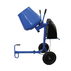 Concrete Mixer 2.2Cu 450W Electric Motor 1440RPM 65L Bowl Cap Knock Down Model Incl