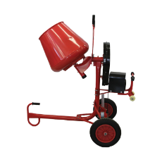 Concrete Mixer 2.2Cu 450W Electric Motor Heavy Duty 1440RPM 13