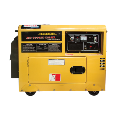 Generator Diesel 4.8Kva Silent Electric Start Standby Rated