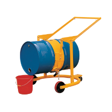Drum Carrier 364KG Oil Dispens For 205L 44G Drums Mobile Carr With 8