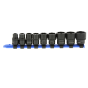 Bolt & Stud Extractor Set 9 Piece For Imperial Sizes With  3/8