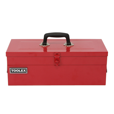 Tool Box Steel 462 x 205 x 170 Red Heavy Duty 3 Tray Cantilever TB2000