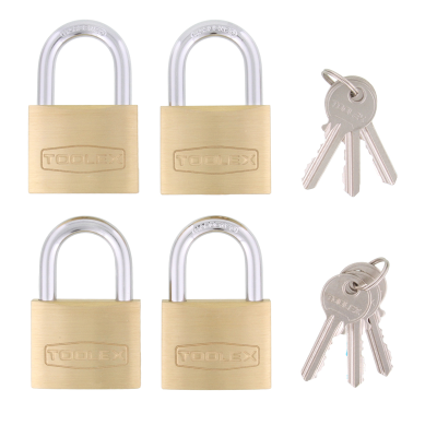 Padlock 50mm Wide Body Twin Pack Keyed Alike With Hardened Shackle 5/16