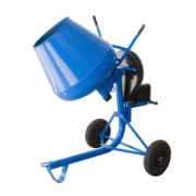 Concrete Mixer 3.5Cu 750W Motor Copper Wound Motor 1HP Motor 1400RPM 100L Cap Bowl