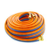 Hose Kit 20M Oxygen & Propane Orange And Blue With Fittings