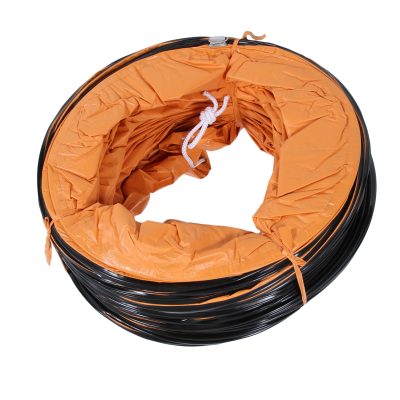 Fan Ventilation Hose 10Mx500mm Flexible PVC Hose Orange