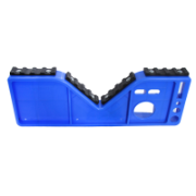 Top Cap For Extension Ladders & Tool Tray With Rubber Face To Suit Extension Ladder Range