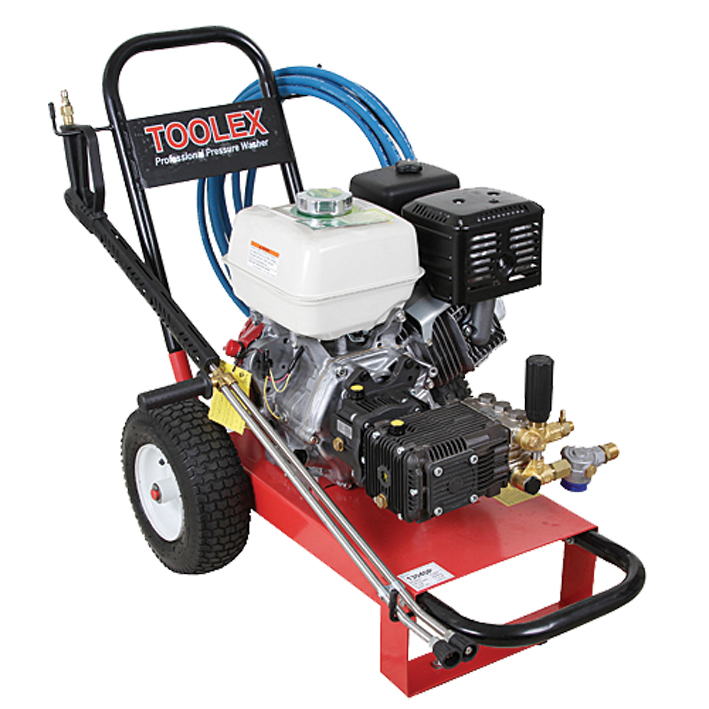Toolex Pressure Washer Petrol 130Hp 4000Psi Honda GX390 132Lm