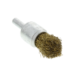 597011 - End brush brass coated crimped
