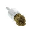 597012 - End brush brass coated crimped