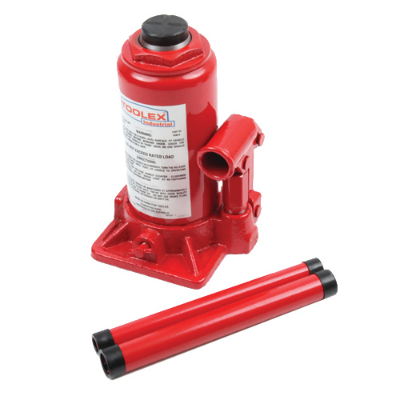 Hydraulic Bottle Jack 8 Tonne Height Raised 400mm