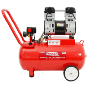 Air Compressor 2.2Hp Oilless 50L Steel Tank Silent 285 L/M Free Air 1440 Rpm 62dBa