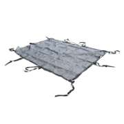 Cargo Net Heavy Duty 2.46m x 2.05m x 50mm Webbing With 8MM Bungee Cord & Stainless Steel