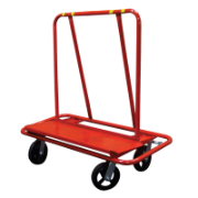 Trolley Panel Wallboard 305 x 1048mm Deck 800kg Capacity 4 X 200MM Rubber Wheels