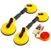 Suction Cup Kit-Double W/Strap