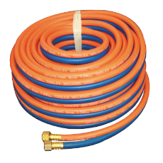 Hose Kit 5M Oxygen & Propane Orange And Blue With Fittings