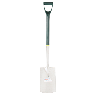 Spade 1000mm x 190mm Stainless Steel Plastic Handle D-Grip