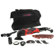Multi-Tool Heavy Duty 220Watt With Accessory Kit Supplied in Nylon Carry Bag